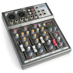 VMM-F401 Mezclador 4 canales Vonyx