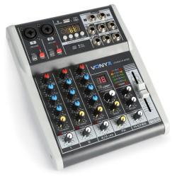 VMM-K402 Mezclador de directo 4 canales con DSP Vonyx