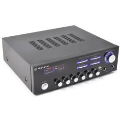 Skytronic AV-120 Amplificador estéreo karaoke MP3