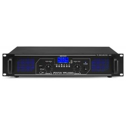 FPL-500 Amplificador digital LEDs + EQ + Bluetooth