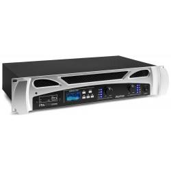 FPA-1000 Amplificador 2x500W reproductor multimedia con Bluetooth