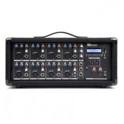 PDM-C805A Mezclador 8 canales con amplificador Power Dynamics