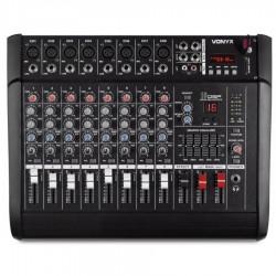 AM8A Mezclador de 8 canales con amplificador DSP/BT/SD/USB/MP3 Vonyx