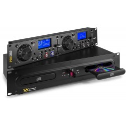 PDX-350 Doble reproductor CD/MP3/USB Power Dynamics