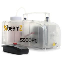 BeamZ S500PC Máquina de humo carcasa transparente con LED