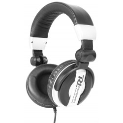PH200 Auriculares DJ blancos Power Dynamics
