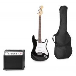 Gigkit Conjunto guitarra eléctrica color negro